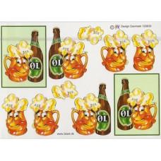 Ølflaske - Glas