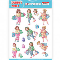 Udstandset - Yvonne Creation - Bubbly Girls shopper