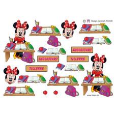 Disney- Minnie - Skolestart