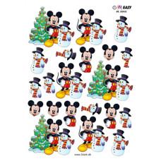 Hm Easy - Jul -  Mickey med Snemand