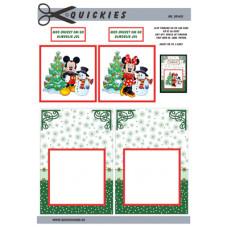 Quickies - Jul  - Minnie med snemand