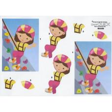 Børn - Pige som klatre