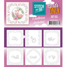 Stitch and Do Cards Only set 53