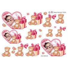 Barnedåb/Baby - Pige i hjerte
