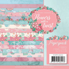 Yvonne Creations - Flowers with a twist - Paperpack