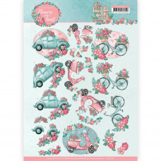 Yvonne Creations - Flowers with a twist - Bil - Cykel - Scooter