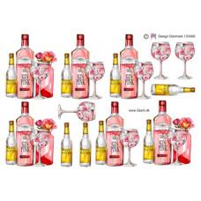 Flasker/Glas  - Gin -Tonic