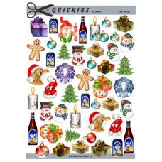 Quickies til scrap - Små juleting