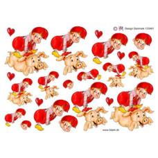 Jul - Nisse med gris