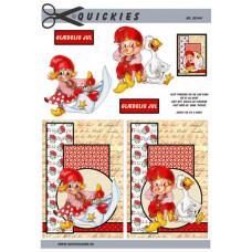 Quickies - Nisser med baggrund