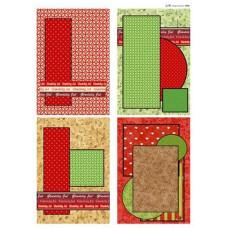 Jul - Baggrunde til små kort
