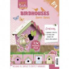 Happy Birds - Birdshouses No 1