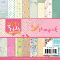 Jeanine/s Art - Happy Birds Paperpack