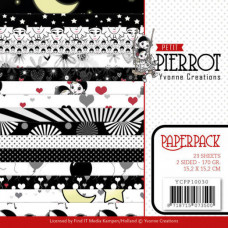 Yvonne Creation - Pierrot Paperpack