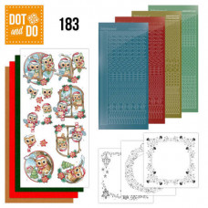 Hobbydots Pakke 215 - Yvonne Creation - Ugler