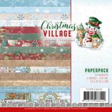 Yvonne Design - Christmas Village Paperpack
