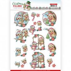 Yvonne Creation - Christmas Village - Ugler