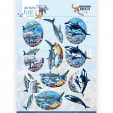 Amy Design - Underwater World - Delfiner