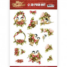 Udstanset - Marieke Design - Touch of Christmas - Fugle