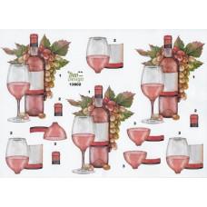 Flasker/ Glas - Vin - Druer