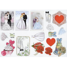 Bryllup - Bryllup - Motiver til små kort