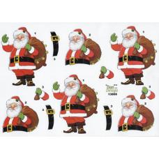 Jul - Julemand med sæk