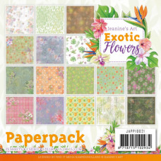 Jeanine/s Art - Exotic Flowers paperpack