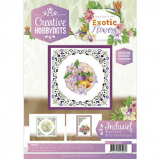 Creative Hobbydots - Jeanine/s Art - Exotic Flowers