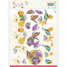 Jeanine/s Art - Butterfly Touch